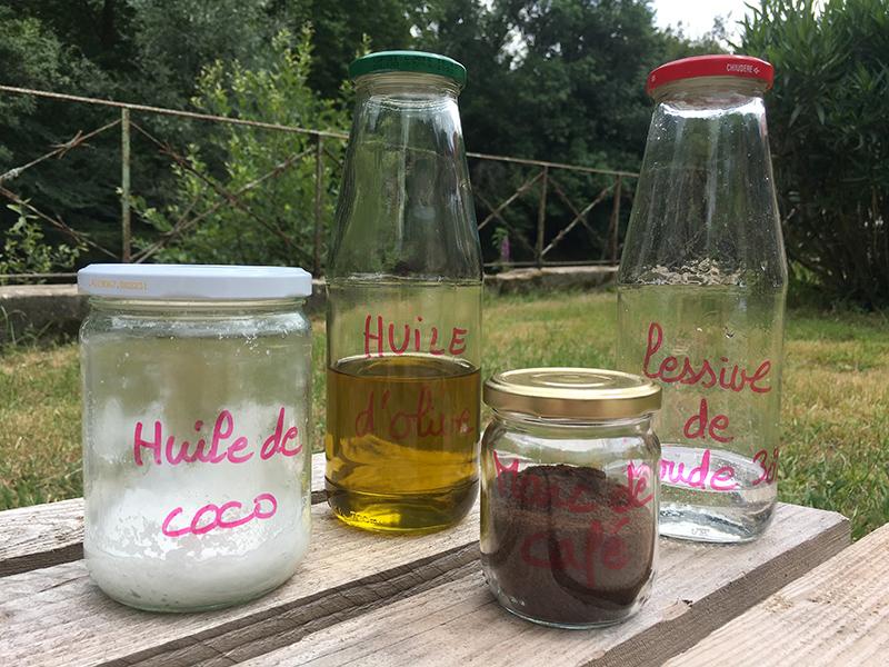 ingrédients savon basique - Fabrication de produits ménagers ou cosmétiques économiques et écologiques